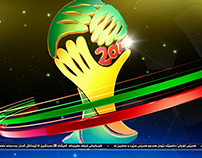Vizrt Kurdsat News Fifa World Cup 2014 Graphics.
