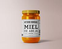 Artidoro Rodríguez Honey Packaging
