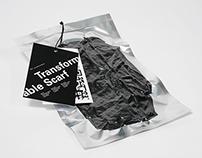 Manila Barcelona Scarf Packaging