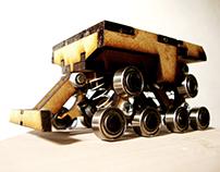 Mars rover matchbox car