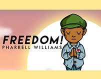 FREEDOM! PHARRELL WILLIAMS