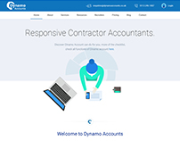 Dynamo Accounts: financial web app for IT professional