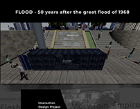 Flood- History based interactive installation prototype