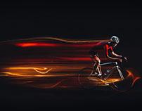 STC Cycling Light Trail
