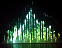 Buluh-an – Interactive Mapping Installation.