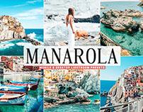 Free Manarola Mobile & Desktop Lightroom Presets