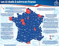 Les 15 duels à suivre en France