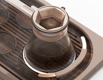 Drip coffee maker set