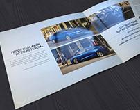 Brochure Designs for Chevrolet Mexico
