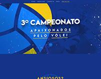 Projeto Apaixonados Pelo Vôlei - 3º Campeonato