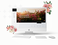 Fragrance Company Landing Page