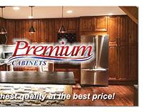 Premium Cabinets Business Card Design