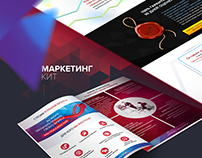 Сайт и Маркетинг Кит для консалтингового агентства