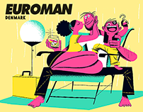 ILLUSTRATION - EUROMAN MAGAZINE (DENMARK)