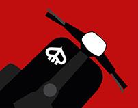 Affiches Vespa Club des Savoie 2015