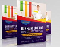 Painter Flyer Template