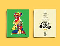 Tarjeta de navidad Fundación Bigott