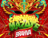 Carnaval de Mazate Brahva 2015