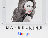 Maybelline NY Illustrations