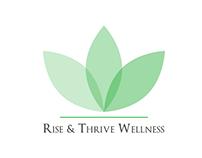 Rise & Thrive Wellness - Logo