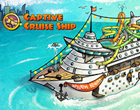 "Donkey Kong City: ""Captive Cruise Ship"""