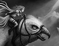 Bird Rider - Illustration