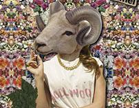 Folklore Tanático - Collage Digital