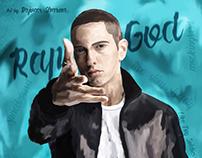 Eminem | Digital Painting