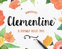 Clementine Handmade Font