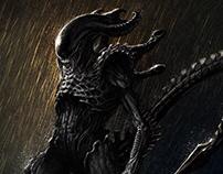 Alien Character Animation