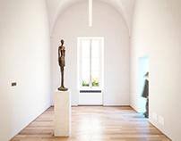 Turin Museum - Giacometti Exhibition