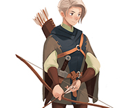 """soonsang works. """"archer"""""""