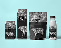 Premium Milk Packaging Design