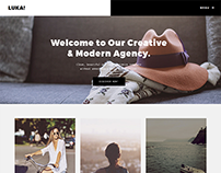 LUKA - Creative Portfolio / Photography Template
