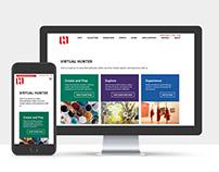 Virtual Hunter Web and UX Design