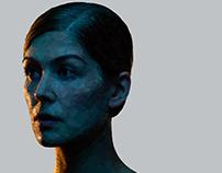 Gone Girl / Amy - Low poly digital portrait