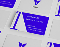 VITUS LANGUAGE CENTER BRAND IDENTITY