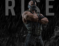 """Bane """"THE DARK KNIGHT RISES"""" Fan Made Poster"""