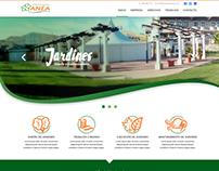 Diseño Web para Eurojardín Anea