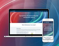 Nanolaser Website Design