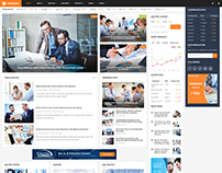 Financial - Financial WordPress Theme