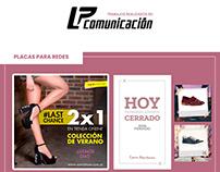Trabajos realizados en LP comunicación