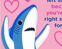 Left Shark Valentines