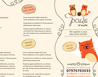 'Paws n More' Brand Identity