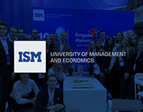 ISM Study fair booth design