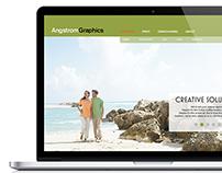 Angstrom Graphics Website Design