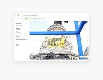 Webdesign: Photographer portfolio