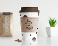 """Логотип для кофейни """"Ванильная сова"""""""