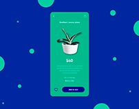Nursery plant design app