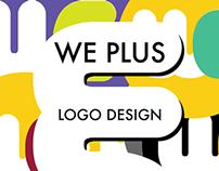 We Plus Logo Design